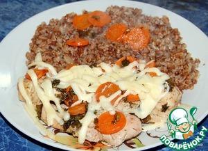 Рецепт Курица в пиве с морковью