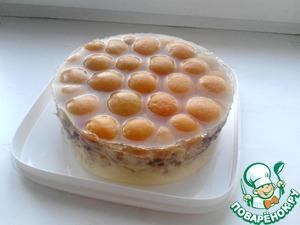 "Рецепт Торт без выпечки ""АБРИКОС"""