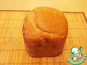 Рецепт Хлеб пшенично-ржаной с цельнозерновой мукой