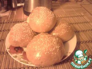 Рецепт Бутербродные булочки как в макдональдсе (для хлебопечки)