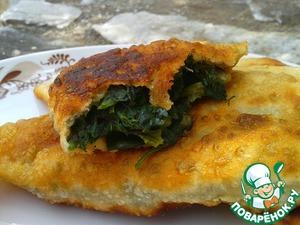 Рецепт Деревенские питтакья со шпинатом и анисом