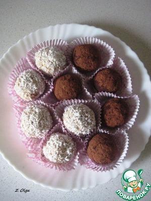 Рецепт Творожные конфеты