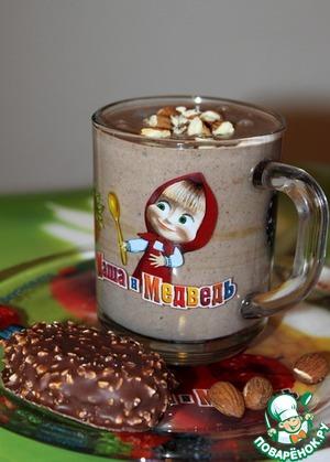 Рецепт Молочный кисель с какао