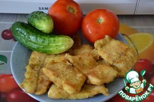 Рецепт Жареная рыбка по-астрахански
