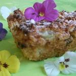 Кокосово-ревеневый пирог