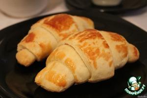 Как приготовить Круассаны из слоено-дрожжевого теста домашний рецепт приготовления с фото пошагово
