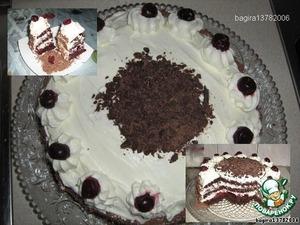 """Рецепт: Торт """"Черный лес"""" или Шварцвальдский торт"""