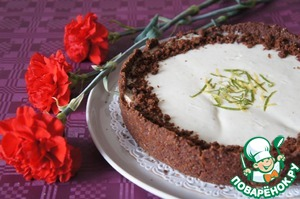 Рецепт Двухслойный цитрусовый тарт