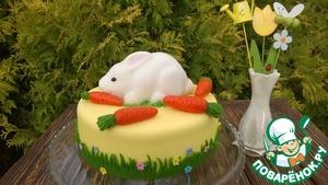 """Рецепт Торт """"Кролик любит морковку"""""""