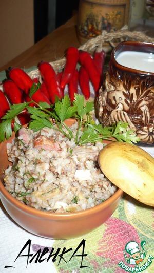 Рецепт Гречневая каша по-боярски