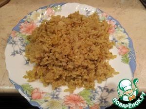 Рецепт Рассыпчатый рис с курицей (почти ризотто)