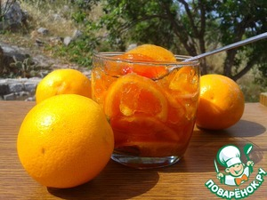 Рецепт Варенье из трех цитрусовых