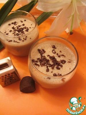 Рецепт Кофейно-банановый смузи