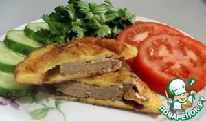 Рецепт Печень в сметанном кляре