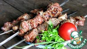 Рецепт Шашлык в луковом маринаде