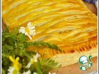 Пирог из слоеного теста с курицей ингредиенты