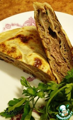 Рецепт Китайские лепешки с мясом