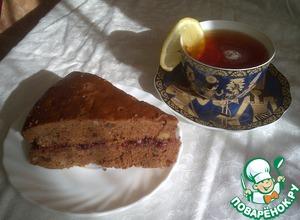 Рецепт Коврижка постная медовая