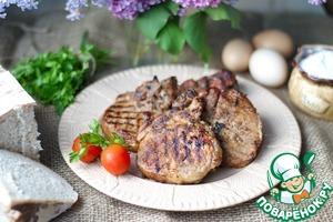 Рецепт Свинина на косточке на гриле