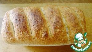 Рецепт Хлеб пшеничный с отрубями