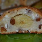 Творожно-банановый багет