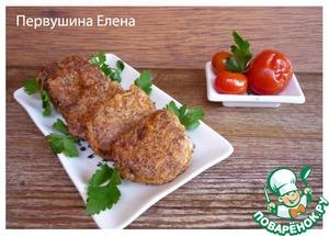 Рецепт Язык, маринованный в соевом соусе и обжаренный в кляре из паприки