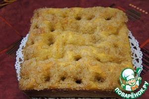 Рецепт: Сахарный пирог