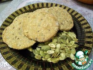 Рецепт Ржано-цельнозерновые хлебцы