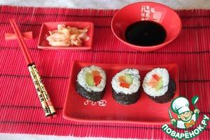 Рецепт Роллы, маки суши-простой вариант