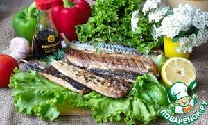 Рецепт Скумбрия, хек и селедка на гриле