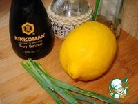 Скумбрия, хек и селедка на гриле ингредиенты