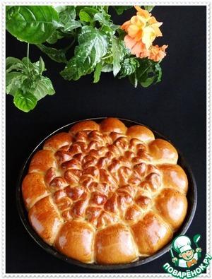Пирог из булочек