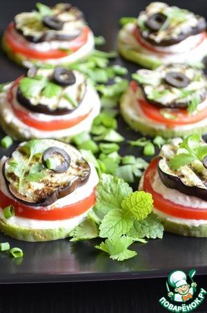 Рецепт Закуска из овощей гриль