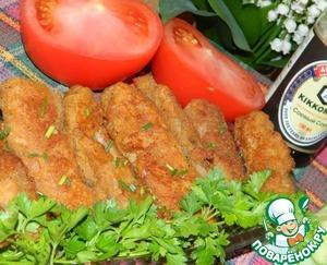 Рецепт Рыбные палочки в кляре