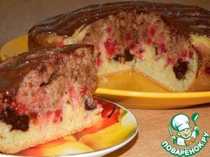 Как приготовить Пирог с черносливом и красной смородиной простой рецепт с фото