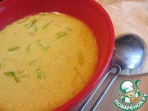 Рецепт Пряный бархатный куриный суп