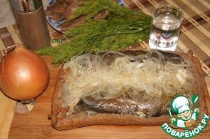 Рецепт Поморский рыбник и калитки из ржаного теста