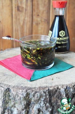 Рецепт Китайский соус из огурцов