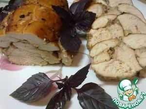 Рецепт Рулет из куриного филе в соевом соусе