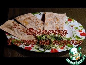 Рецепт Ленивые пирожки-чебуреки из роллов