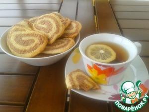 Рецепт Шоколадно-лимонное печенье