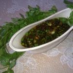 Соус для пикника луковый с имбирём