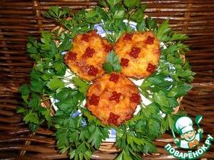 Рецепт Мясо, запеченное с яблоками под молочно-соевым соусом
