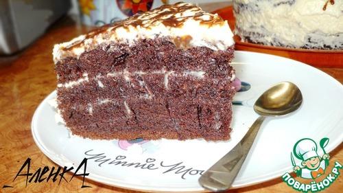заварной торт в мультиварке рецепт с фото