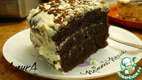 Заварной торт в мультиварке рецепт фото