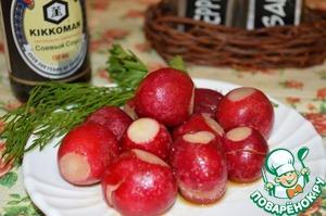 Рецепт Закуска из редиса в соусе с чили
