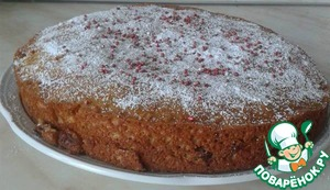 Рецепт Кекс (пирог) на сгущенке