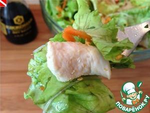 Рецепт Китайский салат с курицей