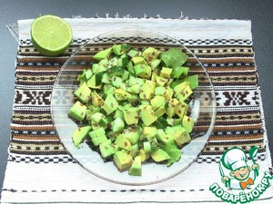 Рецепт приготовления с фотографиями Салат с авокадо и соевым соусом