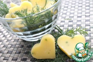 Рецепт Сливочное масло с травами и чесноком